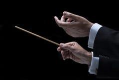 Conductor de la música Imagen de archivo