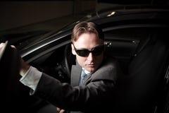 Conductor de la mafia Imagen de archivo