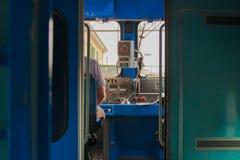 Conductor de tren Foto de archivo libre de regalías