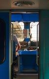 Conductor de tren Imagenes de archivo