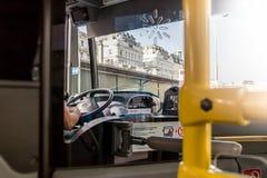 Conductor del autobús Imagen de archivo libre de regalías