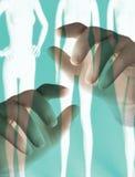 conductor del cuerpo, concepto de la cirugía cosmética Foto de archivo libre de regalías