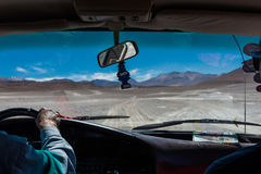 Conductor del desierto Fotos de archivo