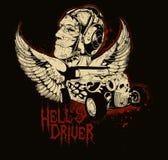 Conductor del infierno stock de ilustración