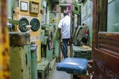Conductor del tren fotografía de archivo libre de regalías