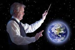 Conductor global Imagen de archivo
