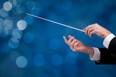 Conductor is leadership Royalty Free Stock Photos