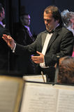 Orchestra Conductor Royalty Free Stock Photo