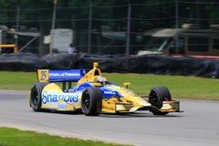 Conductor Marco Andretti de Indycar Fotografía de archivo libre de regalías