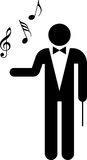 Conductor pictogram Stock Images
