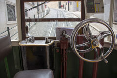 Conductor's seat Royalty Free Stock Photography