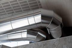 Conductos de la calefacción Imagen de archivo libre de regalías