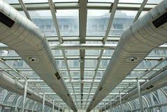 Conductos del aire acondicionado Imagen de archivo libre de regalías