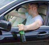 Conduire sous l'influence photo stock