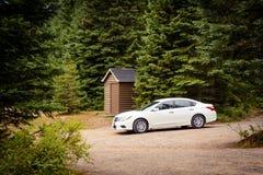 Conduisant dans la région sauvage, Canada III photographie stock