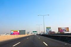 Conduisez par la banlieue de Bangkok Photos libres de droits