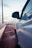 Conduisez sur le pont Image libre de droits