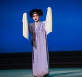 """Conduit au distraction-amour aime le  blanc d'Opera""""Madame Snake†de coïncidences-Kunqu Photographie stock"""