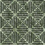 Conduit carré corrodé illustration de vecteur