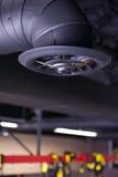 Conduit d'air et Conduit-vertical industriels Photo stock