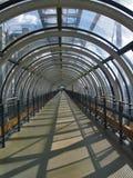 Conduit en verre au centre de Pompidou Photo stock