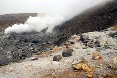 Conduit volcanique images stock