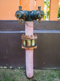 Conduite d'eau traditionnelle Images libres de droits