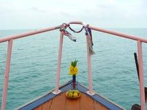Conduite de bateau Photos libres de droits