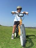 Conduite de bicyclette Photographie stock