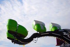 Conduite de carnaval (vert) Photographie stock libre de droits