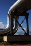 Conduite de gaz neuve Images stock