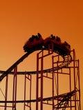 Conduite de montagnes russes Photographie stock libre de droits