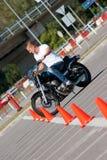 Conduite de moto Image libre de droits