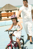 Conduite de vélo Image stock