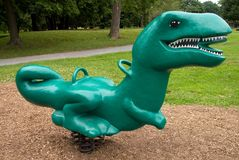 Conduite en plastique de dinosaur de source Images stock