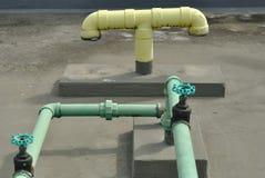 Conduites d'eau Images stock