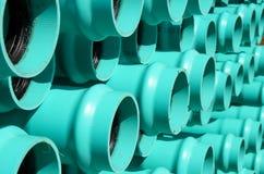 Conduites d'eau Photos libres de droits