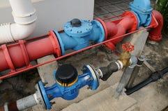 Conduites d'eau Photo libre de droits