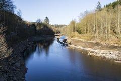 Conduites d'eau concrètes Photo stock