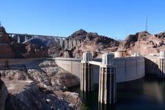 Conduites forcées de barrage de Hoover Photographie stock