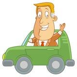 Condurre automobile Immagini Stock Libere da Diritti