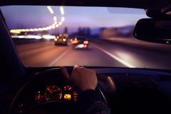 Condurre automobile Immagine Stock Libera da Diritti