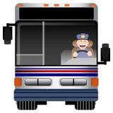 Condutor de autocarro ilustração stock