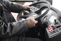 Condutor de autocarro imagem de stock royalty free