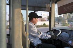 Condutor de ônibus fotos de stock royalty free