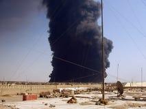 Conduttura attack2 Bagdad 07 Fotografia Stock