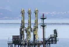 Conduttura del metano Immagini Stock