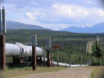 Conduttura dell'Trasporto-Alaska Immagini Stock Libere da Diritti