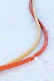 Conduttura della plastica del tubo Fotografia Stock Libera da Diritti