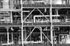 Condutture industriali Fotografie Stock